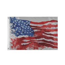 Custom Decor Flags American Symbol Eagle With Usa Flags Personalized Decorative  - $24.99