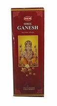 Hem Shree Ganesh Incense Sticks Agarbatti Fragrance 6 Pack of 20 Sticks Each - $11.06