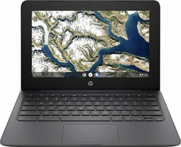 "HP - 11.6"" Chromebook - Intel Celeron - 4GB Memory - 32GB eMMC Flash Memory Gray - $215.82"