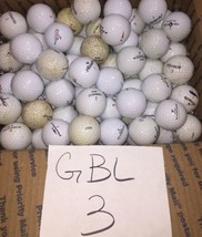 110 Golf Balls Pinnacle & Top Flight Free Shipping Used GBL3 - $56.09