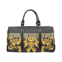 Versace Style Gold Black Luxury Travel Bag Gym Bag Spring Summer '19  - $172.20 CAD