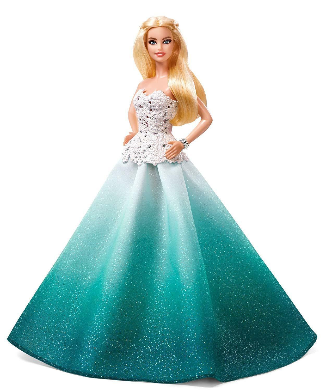 Barbie Doll Fashion Happy Parties Colour Blue Mattel DGX98 Made Of Plastic - $288.32