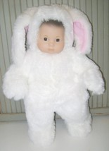 """EASTER BUNNY~PLUSH RABBIT~14-15"""" BABY DOLL~ANNE GEDDES COSTUME~AG BITTY ... - $12.19"""