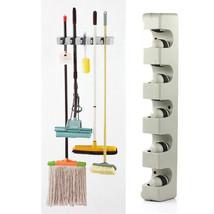 ABS Wall Mounted Kitchen Organizer 5 Position Wall Shelf Storage Holder ... - $26.06 CAD