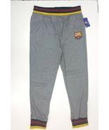 FCB barcelona football team  mens jogger pants drawstring size L - $28.49