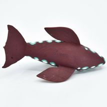Handmade Alebrijes Oaxacan Wood Carving Painted Orca Killer Whale Figurine image 5