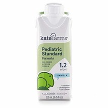 Kate Farms Pediatric Standard 1.2 Vanilla Formula Drink, Organic Plant-Based Pro