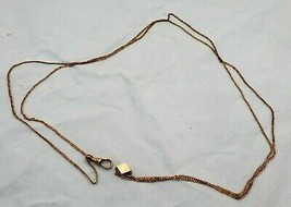 "Vintage Gold Filled Watch Chain 24"" Long  (#406) - $99.00"