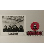 """DAMAGEPLAN - PROMO PICTURE - RARE - 8"""" X 10"""" + STICKERS - FREE SHIPPING - $70.13"""
