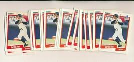1990 Fleer Carlton Fisk White Sox Lot of 22 - $2.22