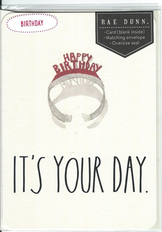 Rae dunn card your day 001