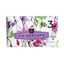Via Mercato Italian Soap Bar (200 g), No. 3 - Pepe Rosa, Lavender and Va... - $10.99