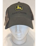 John Deere Real Tree LP52387 Olive Green And Mesh Camo Summer Baseball Cap - $19.99