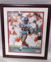 San Francsico 49ers JOE MONTANA Signed Framed 16X20 Certified Photograph - $420.75