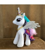 Princess Celestia Build a bear white plush My Little Pony alicorn cape c... - $44.50