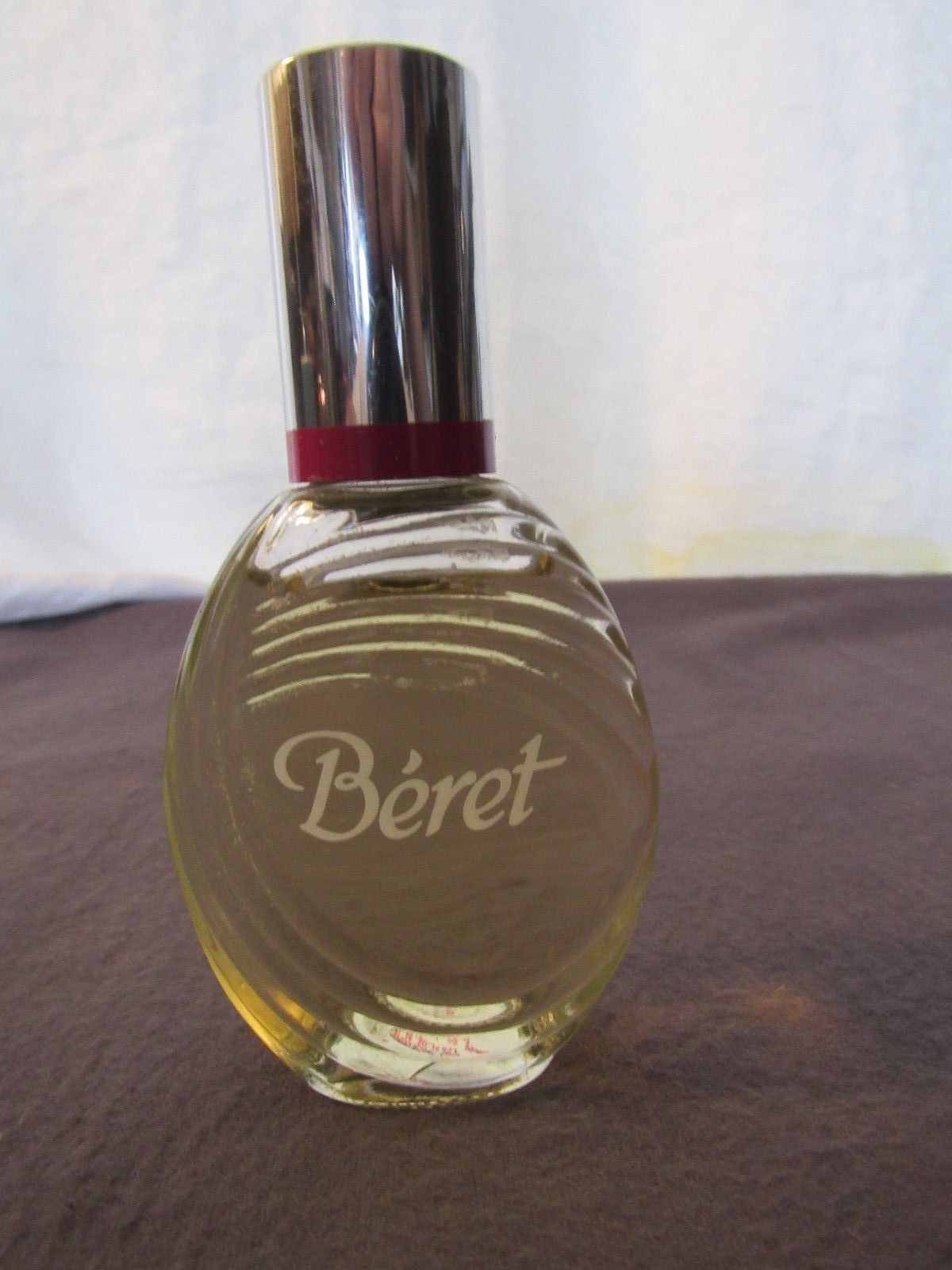 Beret Eau de Cologne Bottle 1.75