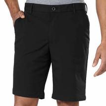NEW IZOD Men's Performance Shorts With UltraFlex Waistband Black image 1