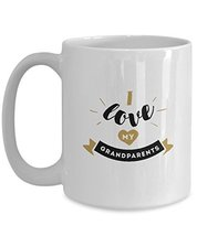 I Love My GrandParents - White Mug (15oz, White) - £11.40 GBP