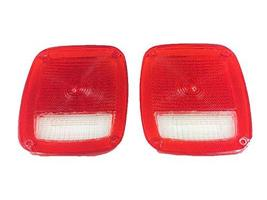 A-Team Performance Acrylic Rear Tail Light Taillight Lens Set Compatible with Je