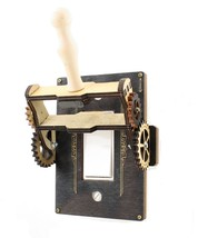 Green Tree Jewelry Steampunk Decora Rocker Throw Switch Black Wood Light... - $39.99