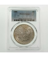 1886 $1 Silver Morgan Dollar Graded by PCGS as MS-63! Gorgeous Coin - $118.80