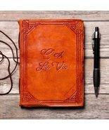 """C'est La Vie"" Handmade Leather Journal - $38.00"