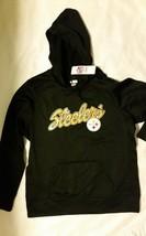 NFL Pittsburgh Steelers Women's TX3 Warm Sweatshirt with Hood, Size Large - New - $37.98