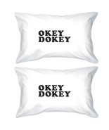 Okey Dokey Unique Letter Printed Decorative Pillow Case Gift Ideas - $30.99