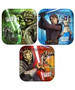 Star Wars Clone Wars 'Opposing Forces' Small Paper Plates (8ct) - $14.58