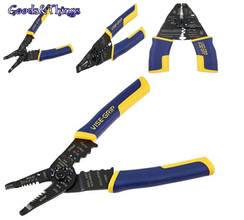 Multi-Tool Wire Stripper Crimper Cutter and 50 similar items