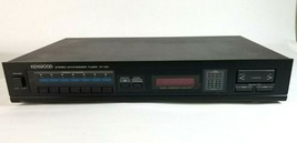 Kenwood KT-54 Stereo Synthesizer Tuner AM FM Audio Channel Memory Vintag... - $44.50