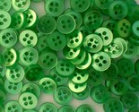Auction 4846 500 unk light green buttons 3 8ths 4 hole contemporary nos thumb155 crop
