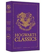 HARRY POTTER ~ HOGWARTS CLASSICS ~ 2 HC BOOKS in SLIPCASE Quidditch BEED... - $22.66
