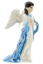 Hagen-Renaker Specialties Ceramic Nativity Figurine Angel with Wings image 1
