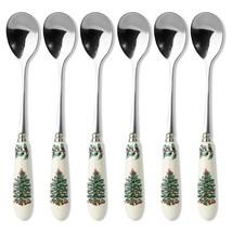 Spode Christmas Tree Tea Spoon Set of 6 - $20.22