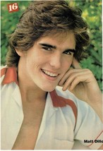 Matt Dillon teen magazine pinup clipping Bop Teen Beat Tiger Beat Open Shirt