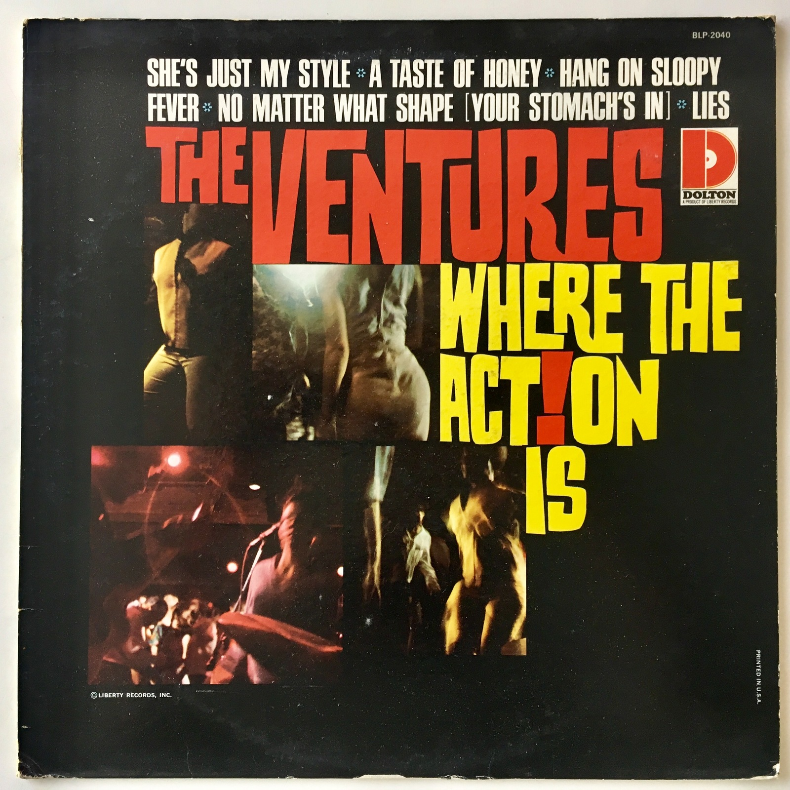 Primary image for The Ventures - Where The Action Is LP Vinyl Record Album, Dolton Records