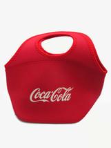 Coca-Cola Zipper Lunch Bag Tote Red with White Logo Insulating Foam - $9.90