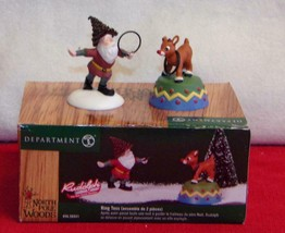 Dept 56 North Pole Woods - Ring Toss 56931 -NEW IN BOX- ( - $16.17