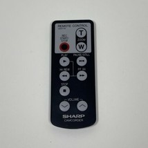 SHARP 8mm CAMCORDER REMOTE CONTROL G0017TA OEM Replacement Tested - $12.82
