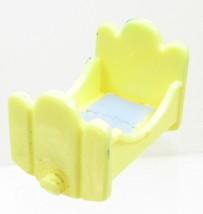 1992 Polly Pocket Vintage Babysitting Stamper - Replacement Crib Bluebir... - $6.00
