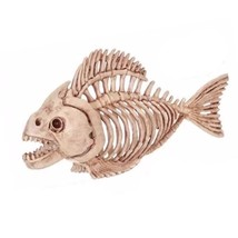 Skeleton Fish 100% Plastic Animal Skeleton Bones For Horror Halloween Sk... - $24.27