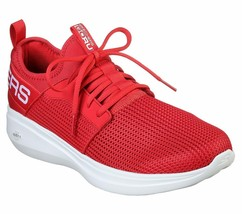 Skechers Red Go Run shoes Men Light Comfort Sport Gym Workout Cushion Me... - $49.99