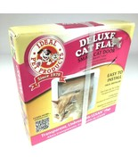 Ideal Pet Products 4 Way Locking Deluxe Small Cat flap door with lexan flap - $11.34
