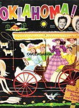VINTAGE UNCUT 1956 OKLAHOMA! PAPER DOLLS~#1 REPRODUCTION~BEAUTIFUL NOSTA... - $18.99