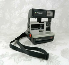 Vintage Polaroid Sun 600 Instant Camera LMS Light Management System Black - $19.79