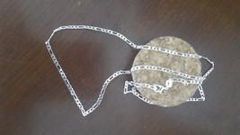 22 in. 925 Silver Figero Chain 2mm - $12.00