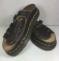 Dr Martens Brown Leather Sandals Women's Size US 7- Distressed - $57.22