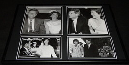 President John F Kennedy JFK & Jackie O Framed 12x18 Photo Collage  - $69.29