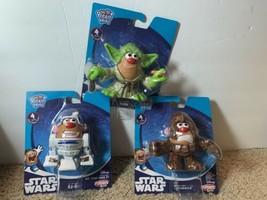 "Star Wars Playskool Friends Mr. Potato Head: R2-D2, Chewbacca, Yoda | 3"" Figures - $29.99"